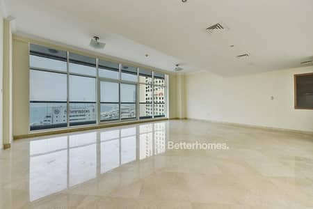 High Floor|Corner 3BDR w/Laundry | Sea & Marina view