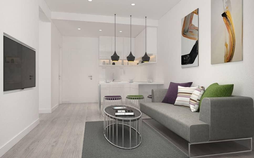 شقة في مساكن الواحة مدينة مصدر 1 غرف 835000 درهم - 4252443