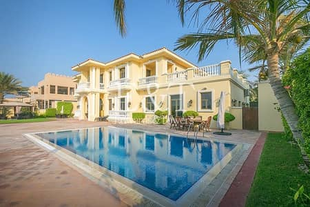 6 Bedroom Villa for Sale in Palm Jumeirah, Dubai - EXCLUSIVE! Beautifully Furnished|Prime Location PJ