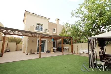 تاون هاوس 3 غرفة نوم للايجار في المرابع العربية، دبي - 3 Bedrooms | Study | Maintenance Contract