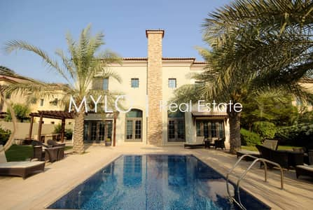 5 Bedroom Villa for Rent in Jumeirah Golf Estate, Dubai - Ready To Move In Now Golf Course Views
