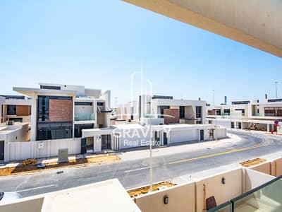فیلا في وست ياس جزيرة ياس 4 غرف 4000000 درهم - 4253018