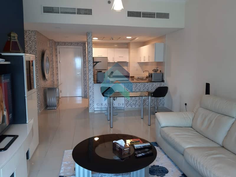 Furnished 3BHK+M | High Floor | Great View