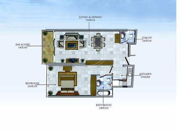 2 Lake City - For Sale 1 Bedroom Higher Floor With Full Marina View Opposite JLT Metro Station