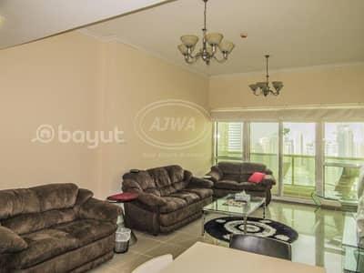 فلیٹ 1 غرفة نوم للبيع في أبراج بحيرات الجميرا، دبي - Lake City - For Sale 1 Bedroom Higher Floor With Full Marina View Opposite JLT Metro Station