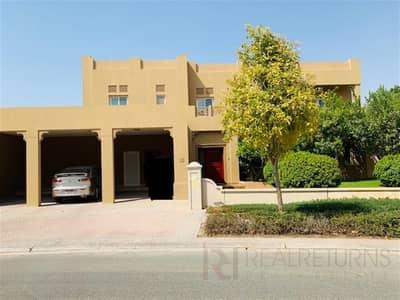 7 Bedroom Villa for Rent in Arabian Ranches, Dubai - Elegant 7 beds+study+maids in Al Mahra
