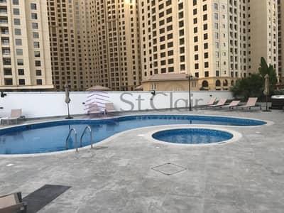 فلیٹ 1 غرفة نوم للايجار في دبي مارينا، دبي - Full Marina View Direct Access to Marina Tram