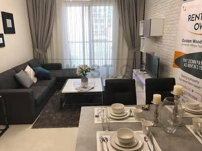 مبنى سكني  للايجار في مثلث قرية الجميرا (JVT)، دبي - Brand New|Residential Building-58 Apt.(ST