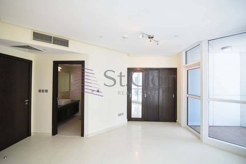 Spacious 3 Beds  + Maids | Full Sea View