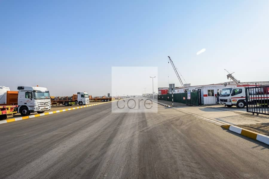 2 Open yard available in Mussafah Industrial