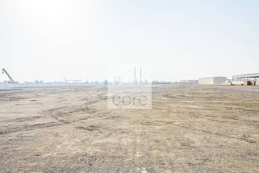 10 Open yard available in Mussafah Industrial