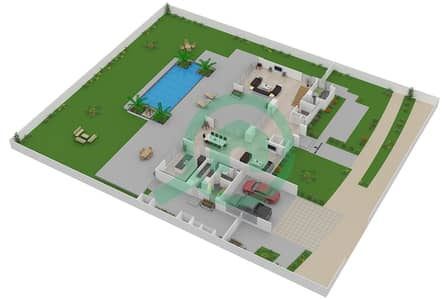 The Nest - 4 Bedroom Villa Type A2-L Floor plan