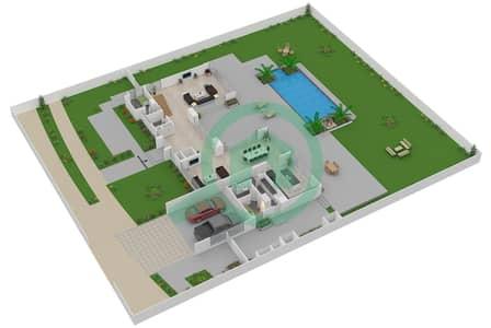 The Nest - 4 Bedroom Villa Type A2-R Floor plan