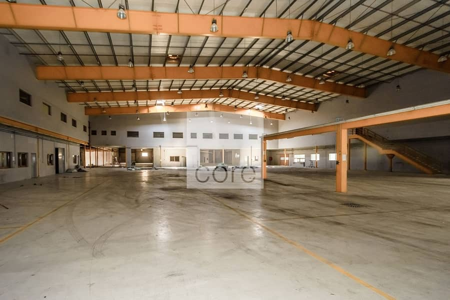 Spacious Warehouse | Ground plus Mezzanine