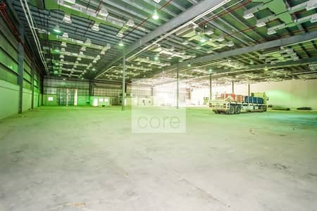 Warehouse for Rent in Mussafah, Abu Dhabi - Fitted Industrial Warehouse | Parking
