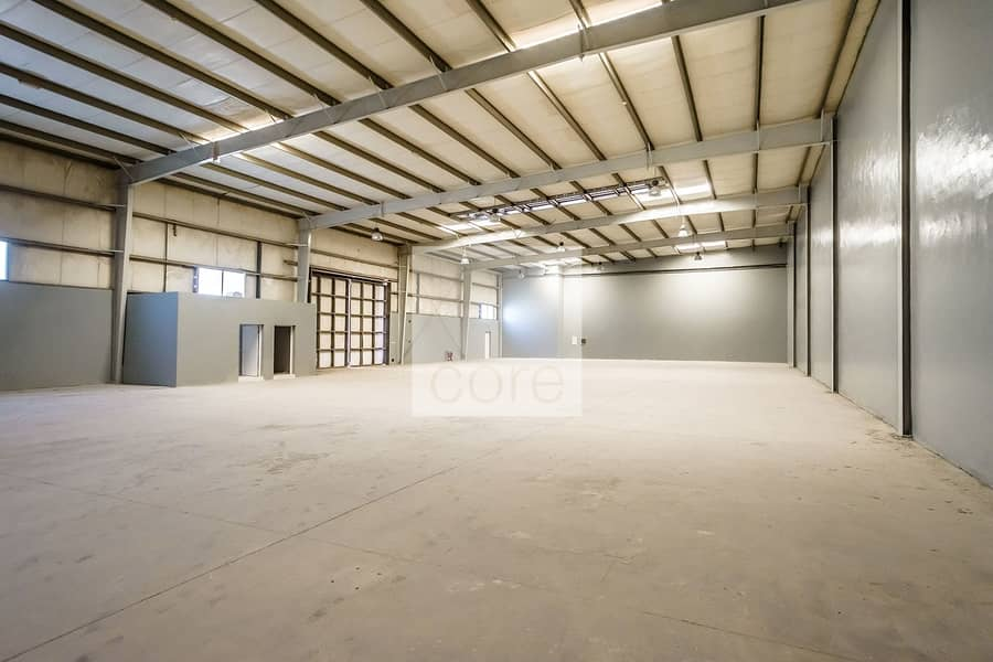 Fitted Warehouse | Parking | Freezone