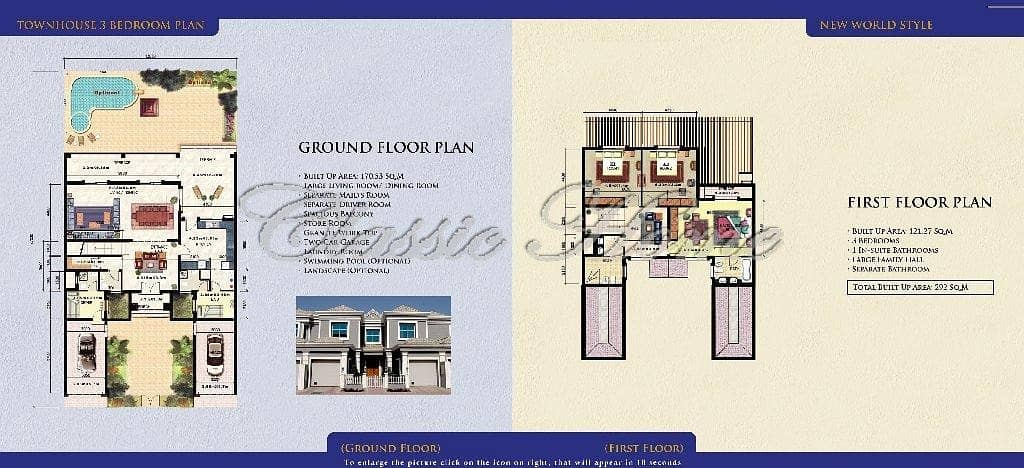 10 Best Price! 3 Bed Townhouse New World Style