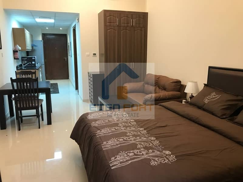 1 Fully Furnished Studio in Elite 10 | Dubai Sports City