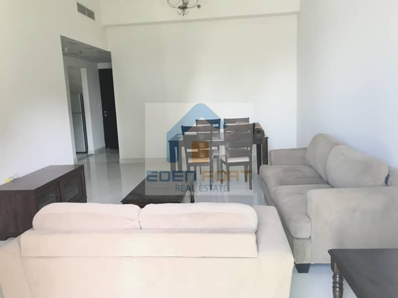 2 Fully Furnished-Two Bedroom- Closed Kitchen | DSC