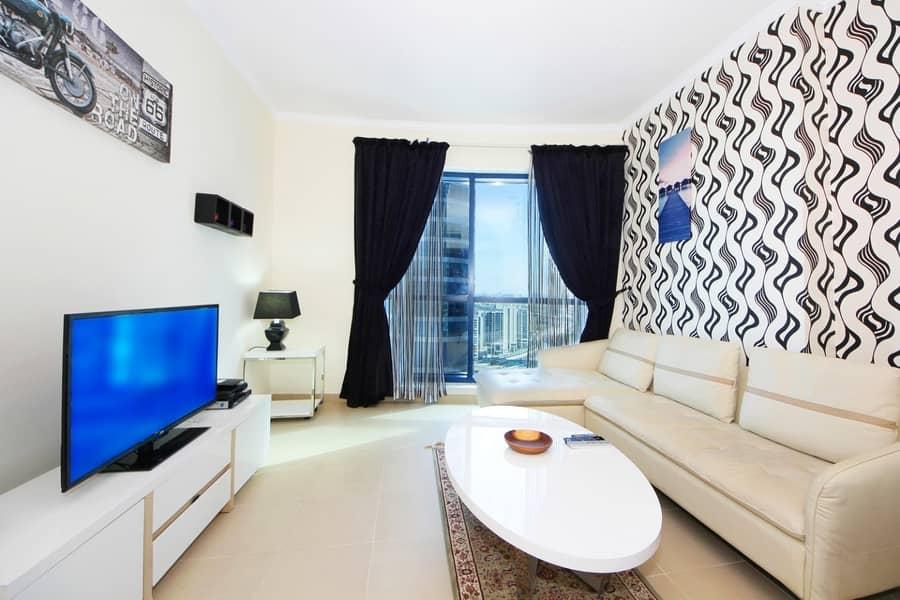 Stunning Duplex Apartment in JLT X-1