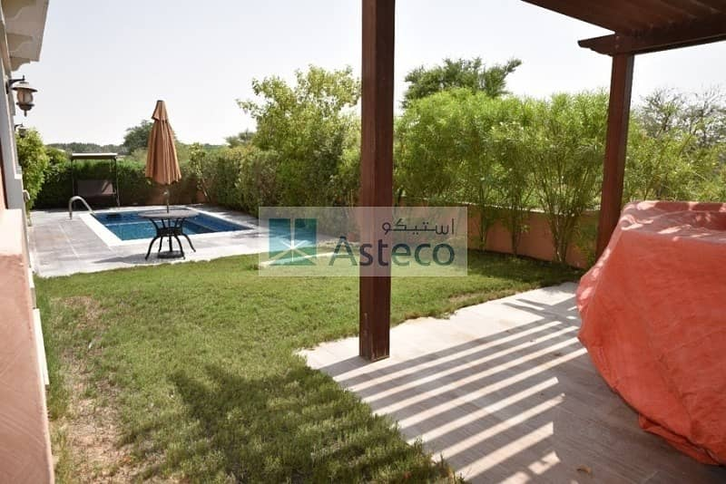 Astonishing ready to move in villa for sale in Jumeirah Golf Estates