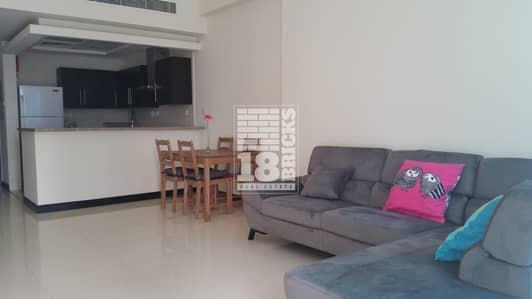 1 Bedroom Flat for Rent in Jumeirah Lake Towers (JLT), Dubai - Fully Furnished Apartment | Community View