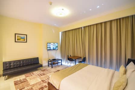 Studio for Rent in Jumeirah Village Circle (JVC), Dubai - Quality Furnished New Studio in JVC Golf Course View