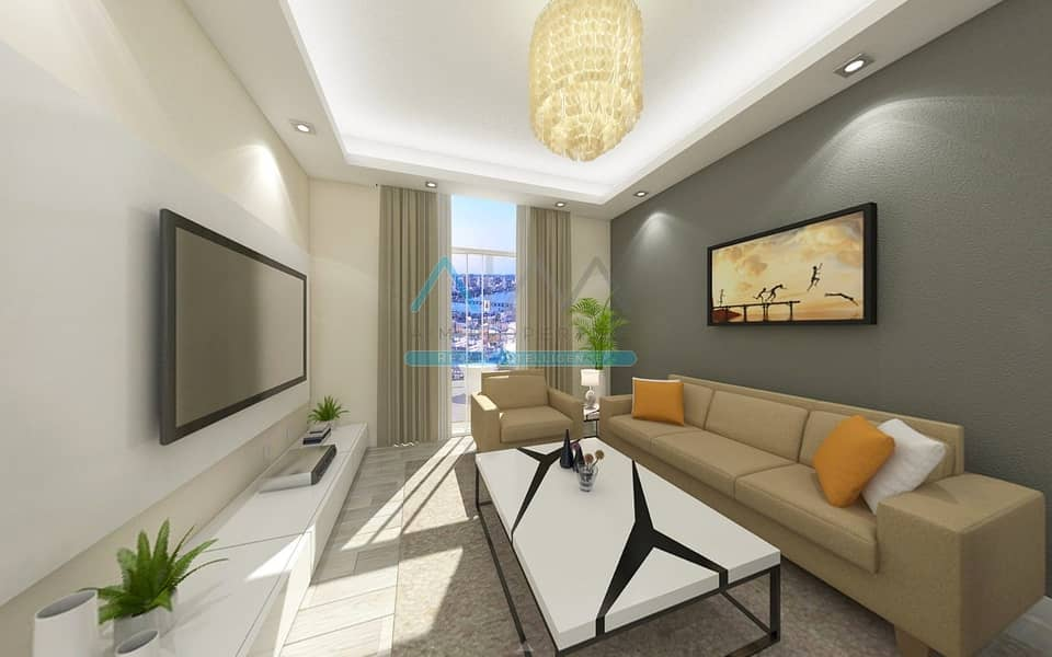 Pay 25%_Own a Huge Canal looking Studio_Start earning the 9% return Guaranteed IMMEDIATE