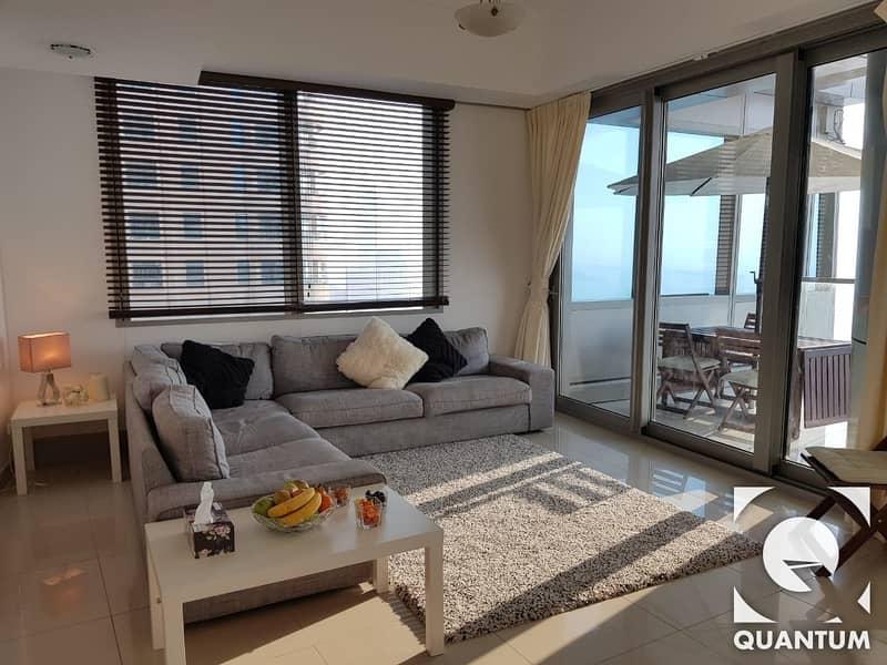 2 Stylish Furniture | Sea View | Maids+Study