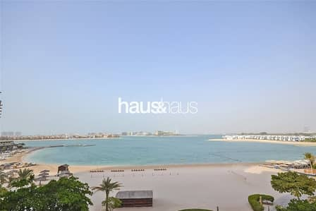 3 Bedroom Apartment for Sale in Palm Jumeirah, Dubai - Full Sea and Burj Al Arab View| Beach Access| 3 BR