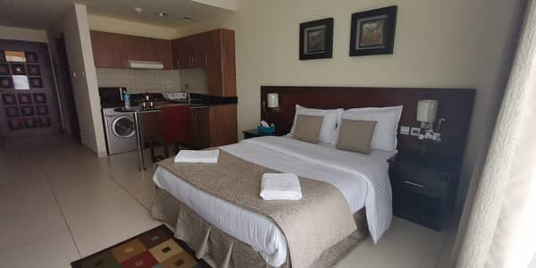 Studio for Rent in Barsha Heights (Tecom), Dubai - Get the september offer   spacious studio