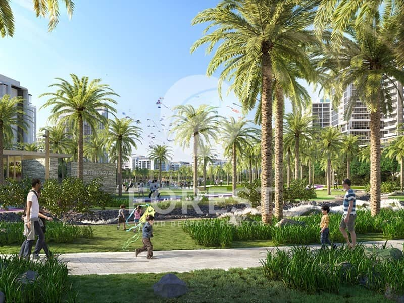 30 Golf and Park | Main Boulevard | Dubai Hills-Mall