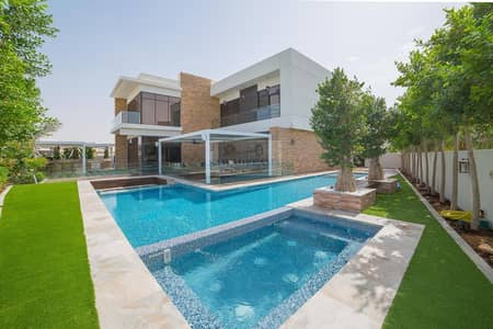 6 Bedroom Villa for Sale in DAMAC Hills (Akoya by DAMAC), Dubai - Golf Course & Lake View/ VD2 Type! Fully Upgraded