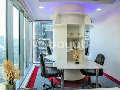 Office for Rent in Business Bay, Dubai - Free Parking | Free 1 month | Strategic Location | Fully furnished