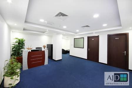 مکتب  للايجار في القرهود، دبي - مکتب في مبنى مشاريع الإمارات منطقة شارع المطار القرهود 25000 درهم - 4257041