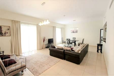 1 Bedroom Flat for Rent in Jumeirah Beach Residence (JBR), Dubai - Beachfront Living- Full Furnished 1 Bed