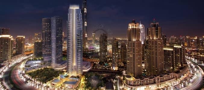 3 Bedroom Flat for Sale in Downtown Dubai, Dubai - Opera Grand Luxury 3 Bed|Full Fountains & Burj Khalifa View