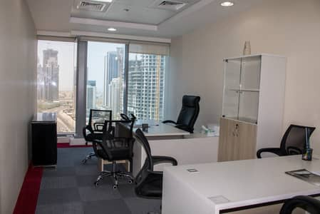 Office for Rent in Business Bay, Dubai - Free Parking | High End | Fitted Office | Shared Office