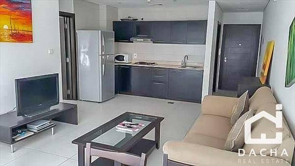 2 Fully furnished / 1 bedroom / 60k for one cheque