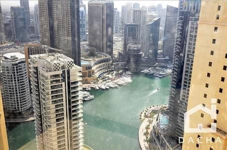 شقة 1 غرفة نوم للبيع في جي بي ار، دبي - Vacant / Spacious 1BR / Marina view!