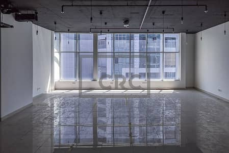مکتب  للايجار في الخليج التجاري، دبي - Fully Fitted | High Ceiling | 100% Usable Space