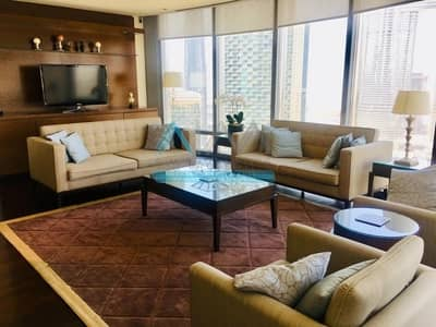 3 Bedroom Flat for Rent in Downtown Dubai, Dubai - LIVE IN LUXURY FURNISHED 3 BR IN BURJ KHALIFA