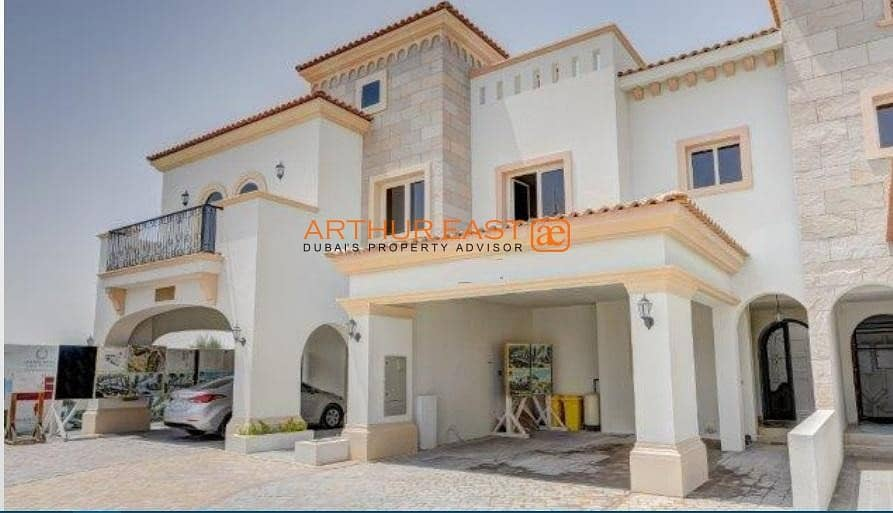 10 Ready Townhouses in Jumeirah Golf Estate
