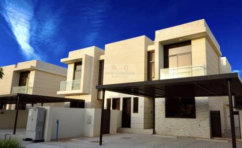 3 Bedroom Villa for Sale in DAMAC Hills (Akoya by DAMAC), Dubai - Brand New 3BR+ Maids Room!TH L Type ! Single Row