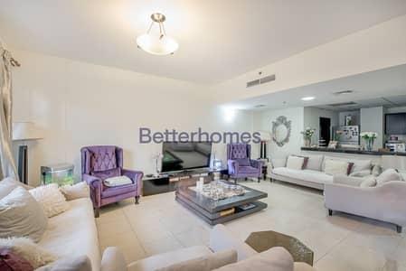 شقة 2 غرفة نوم للبيع في قرية جميرا الدائرية، دبي - VACATING SOON   2 BED DUPLEX WITH POOL VIEW