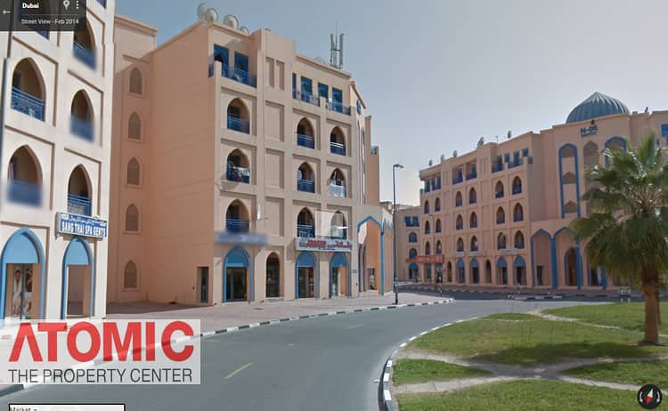 STUDIO FOR RENT IN PERSIA CLUSTER WITH BALCONY - INTERNATIONAL CITY - 22000/-