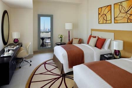1 Bedroom Apartment for Rent in Bur Dubai, Dubai - Twin Bedroom