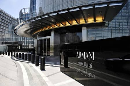 Elegant 2Bed Apt in Armani Residences with Overwhelming View