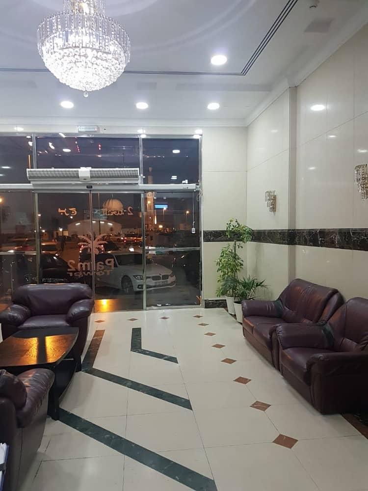غرفتين نوم خزائن بالحائط مساحه واسعه بالكونه بسعر ممتاز