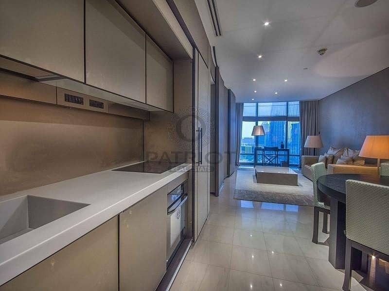 2 Lavish 1 bed apt in Armani Residence with dazzling view
